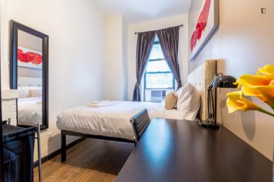Alluring double bedroom in a 2-bedroom apartment near Chrysler Building