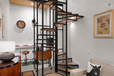 Modern 1-bedroom apartment in Praça da Batalha
