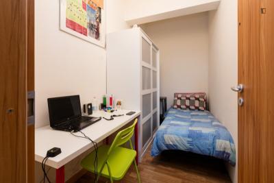 Single bedroom close to Cappella Sistina
