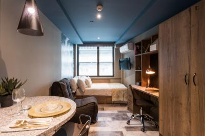 Premium studio in beautiful student residence in the city centre
