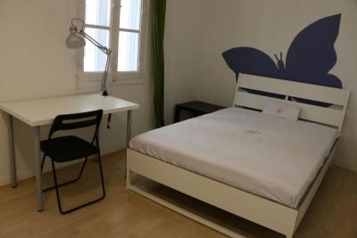 Very cool double bedroom near the Facultad de Comercio y Turismo