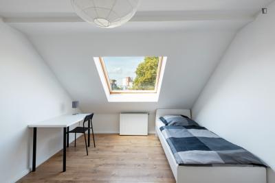 Pleasant single bedroom in Soldiner Kiez