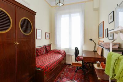 Beautiful single bedroom close to the Rufa - Rome University of Fine Arts