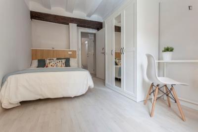 Nice double bedroom near Plaça de la Mare de Déu