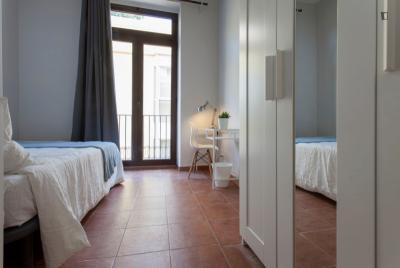 Cute double bedroom near Plaça de la Mare de Déu