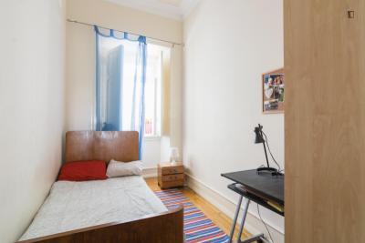 Wonderful single bedroom close to Escola Superior de Dança de Lisboa