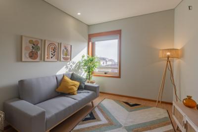 Inviting 1-bedroom apartment next to the Matosinhos beach