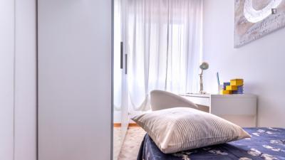 Cool double bedroom near Gambara metro station